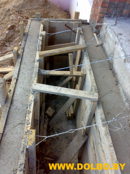 Бетонные работы - изготовление бетонных конструкций image