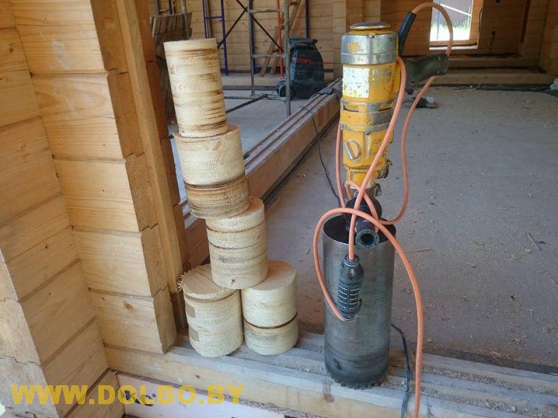 Сверление в древесине dolbo d1