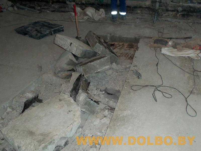 Примеры выполнения: резка, разрушение, демонтаж строительных конструкций 102539