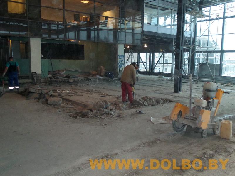 Примеры выполнения: резка, разрушение, демонтаж строительных конструкций 103545