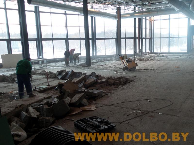 Примеры выполнения: резка, разрушение, демонтаж строительных конструкций 131703
