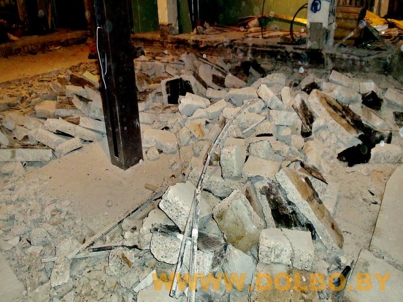 Примеры выполнения: резка, разрушение, демонтаж строительных конструкций 190853