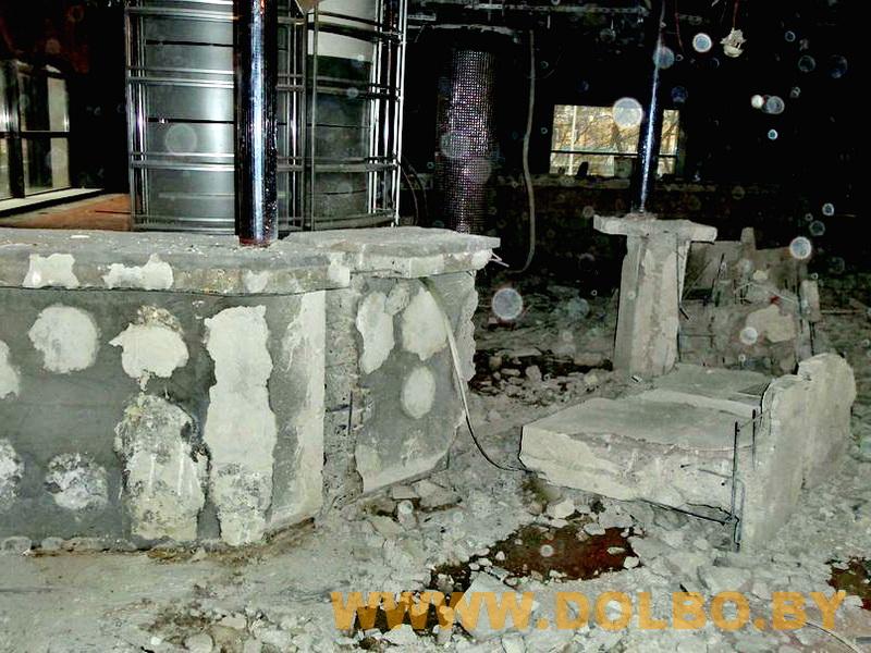 Примеры выполнения: резка, разрушение, демонтаж строительных конструкций 092317 1