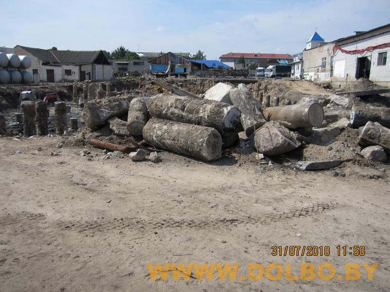 Примеры выполнения: резка, разрушение, демонтаж строительных конструкций 2319