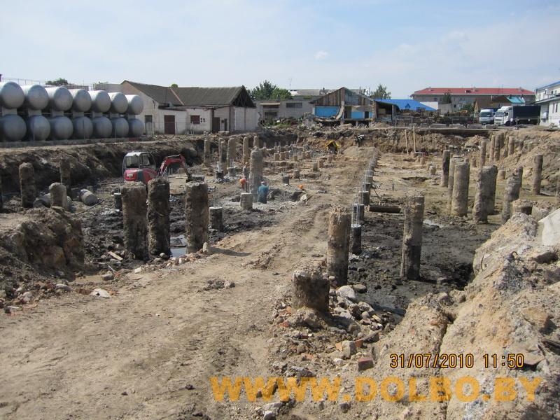 Примеры выполнения: резка, разрушение, демонтаж строительных конструкций 2320