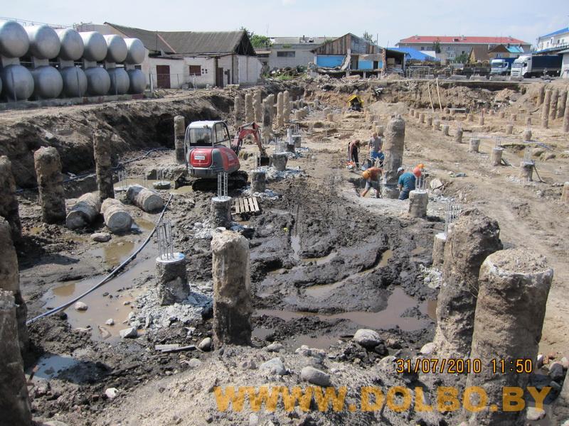 Примеры выполнения: резка, разрушение, демонтаж строительных конструкций 2321