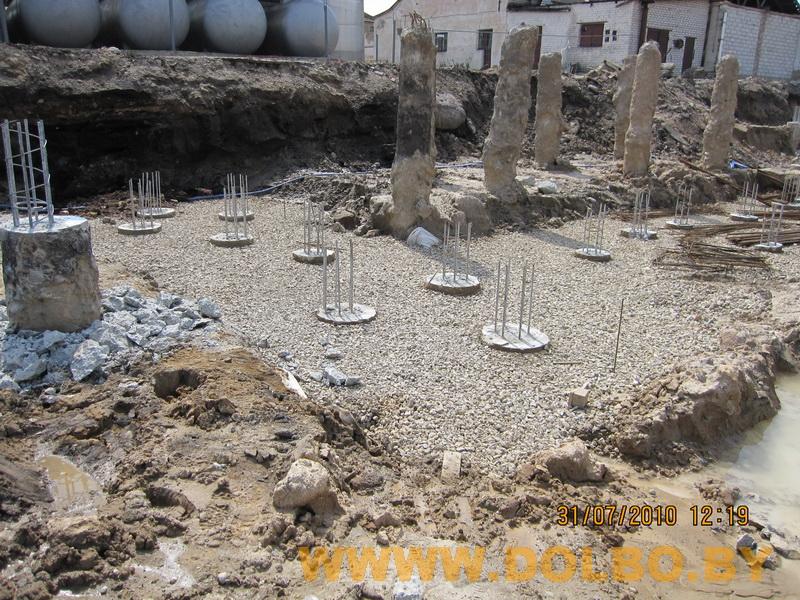 Примеры выполнения: резка, разрушение, демонтаж строительных конструкций 2331