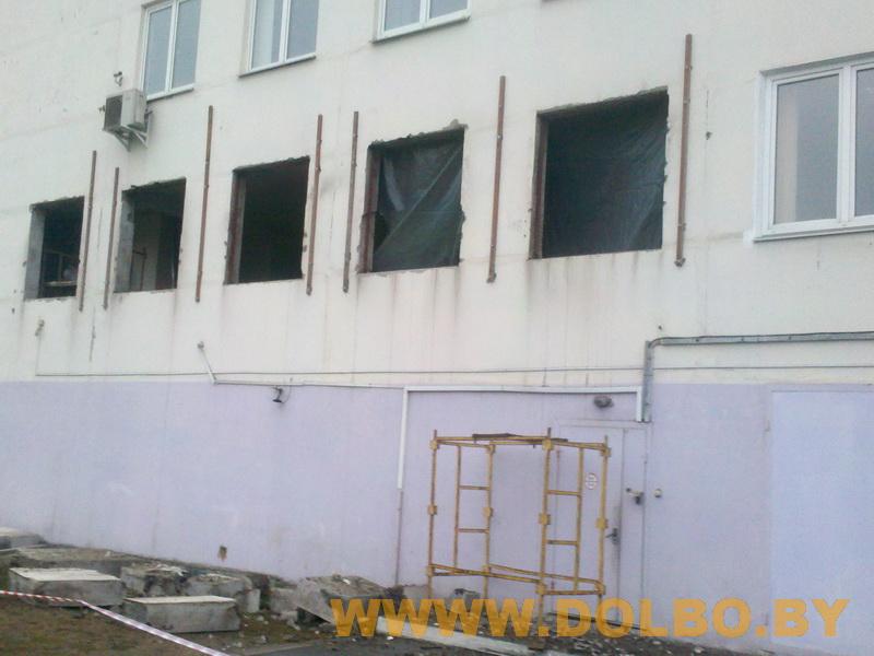 Примеры выполнения: резка, разрушение, демонтаж строительных конструкций dem1