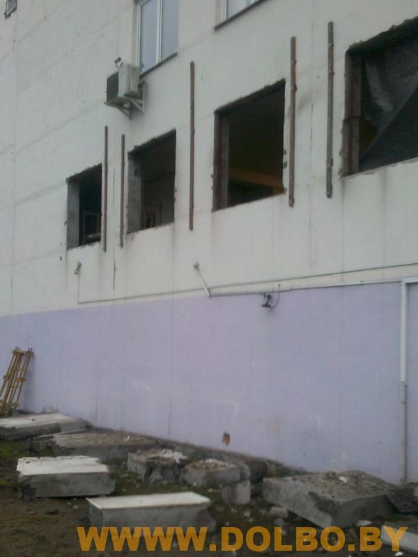 Примеры выполнения: резка, разрушение, демонтаж строительных конструкций dem3