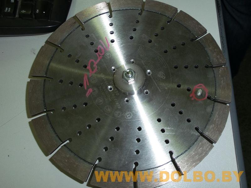 Изготовление, продажа приспособлений и дополнительной оснастки для алмазной резки  dolbo2